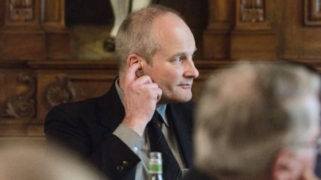 Überraschungsmann: SVP-Kandidat Thomas Egloff (54). Foto: Roland Schmid