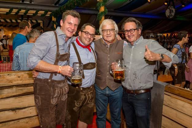 2017: Oktoberfest mit Reto Schmid, Gilbert Gress und Erich Obrist.