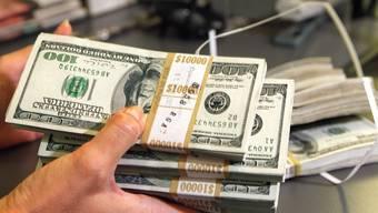 Die USA haben die zulässige Schuldenobergrenze von 14,29 Millionen Dollar erreicht (Symbolbild)