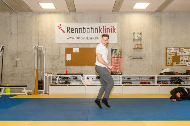 Kistler trainiert im Nationalen Leistungszentrum sowie im Judo-Club Brugg und hat sich zum Ziel gesetzt, an die Olympischen Spiele zu reisen.