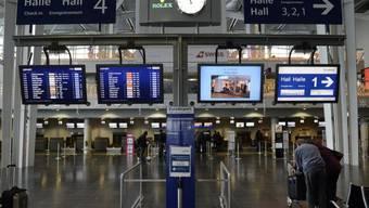 Im Einsteigebereich des Euro-Airports wird ein Gebetsraum eingerichtet. (Archiv)