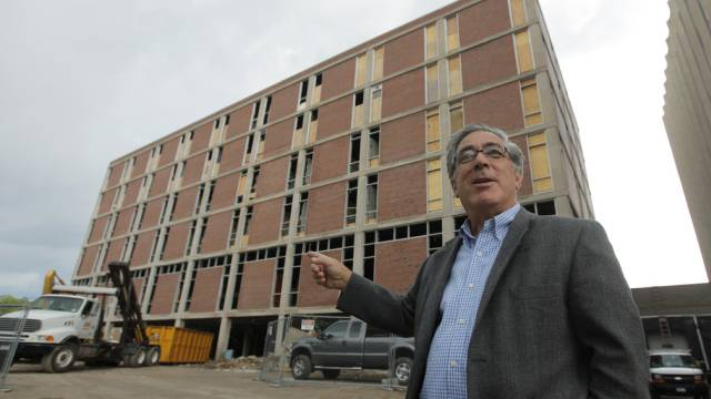 Immobilienunternehmer Larry Glazer in einer Aufnahme von 2010