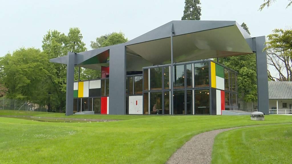 Pavillon Le Corbusier erstrahlt in neuem Glanz