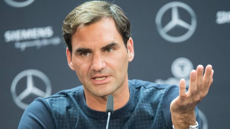 Roger Federer ist zurück und spricht trotzdem vom Abschied: «Ich glaube, dass der Sprung ins Danach ganz okay sein wird.»