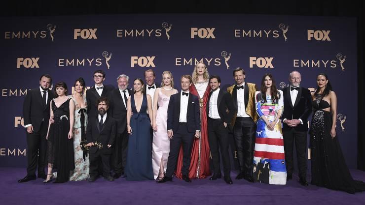Die Schauspieler von «Game of Thrones». Die Serie wurde als beste Drama-Serie ausgezeichnet.