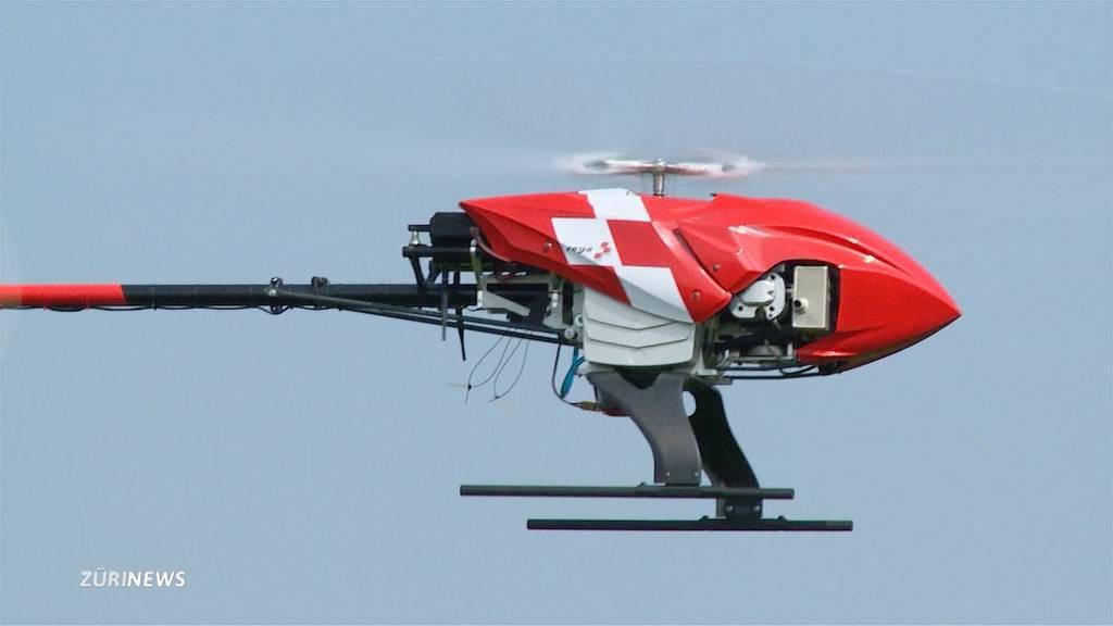Rega-Drohnen sollen Leben retten