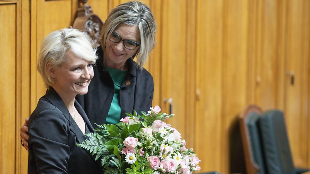 Isabelle Moret mit Rekordresultat zur höchsten Schweizerin gewählt