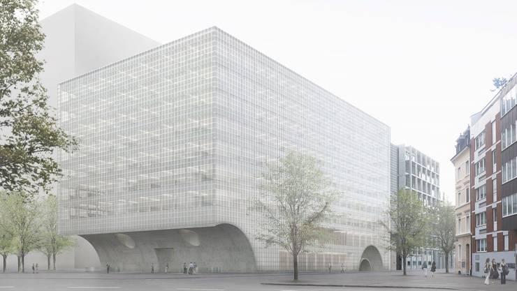 Dieses Gebäude wird gebaut, darf aber nicht mehr als Werk von «Caruso St John» bezeichnet werden.