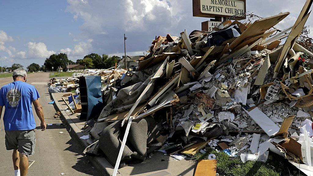 Die Schäden dieser Hurrikansaison führten bei Swiss Re zu Rekordschadenkosten wie in Texas nach Harvey (Bild).