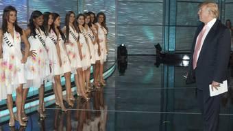 Trump soll direkt Einfluss auf den Ausgang der Miss-Universe-Wahlen genommen haben.