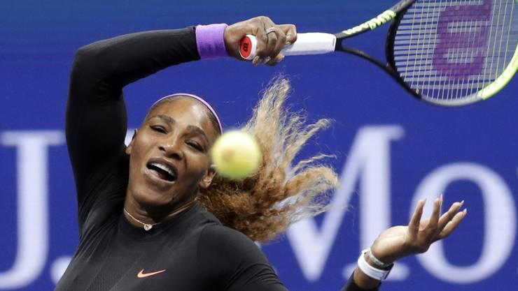 Dynamisch und unwiderstehlich: Serena Williams gab im Viertelfinal des US Open nur ein Game ab