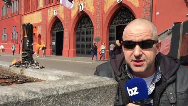Bilanz der Sechseläuten-Hauptprobe vor dem Basler Rathaus