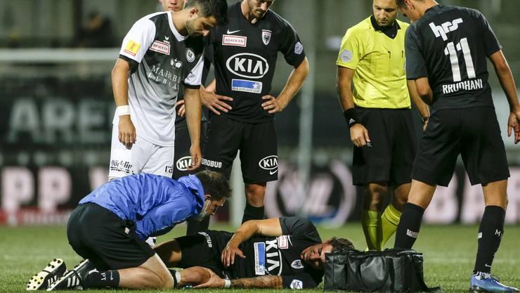 Kevin Spadanudas Verletzung ist weniger schlimm als zuerst befürchtet.