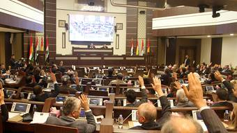 Das Regionalparlament in Erbil.