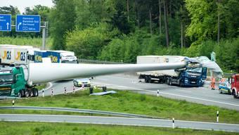 Windradflügel Auffahrunfall Deutschland
