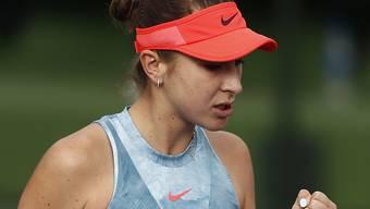Belinda Bencic befindet sich endlich wieder in der Form, in der sie vor vier Jahren bis auf Platz 7 der Weltrangliste vorrückte