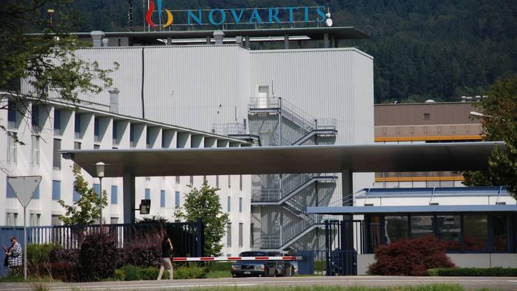 Alles ruhig: Novartis-Mitarbeiter in Stein haben keine Angst. (Bild: ju)