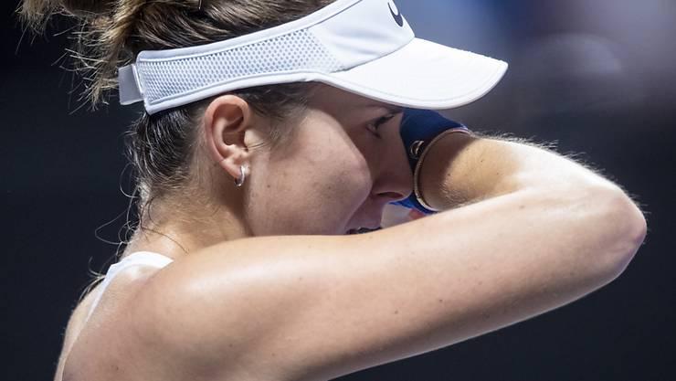 Belinda Bencic übersteht in Adelaide die Startrunde