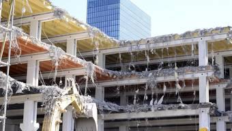 Die Hallen 1 und 3 werden abgerissen – die Eindrücke