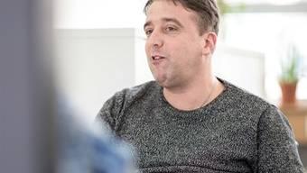 Achim Bader, 42. Er präsidiert den Verein «Selbstvertretung, Menschen mit Behinderung Solothurn».