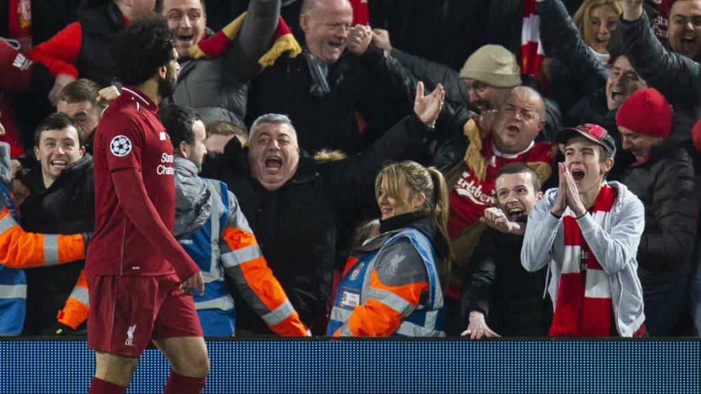 Liverpool feiert dank Mohamed Salah