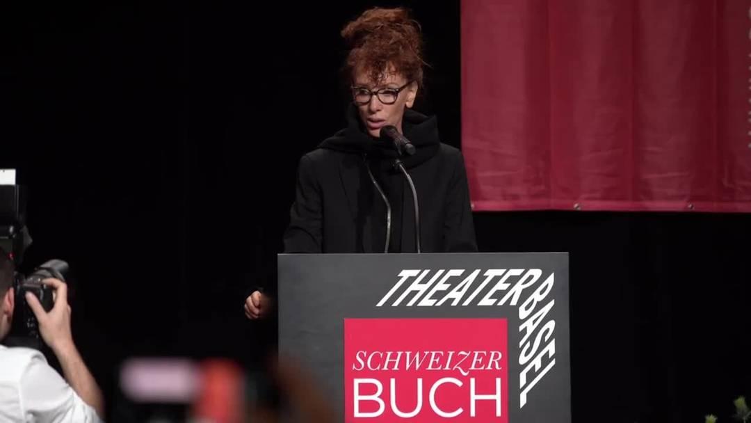 Sibylle Berg gewinnt den Schweizer Buchpreis 2019