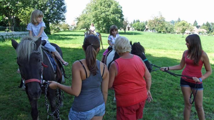 Ponyreiten war eine von vielen Attraktionen