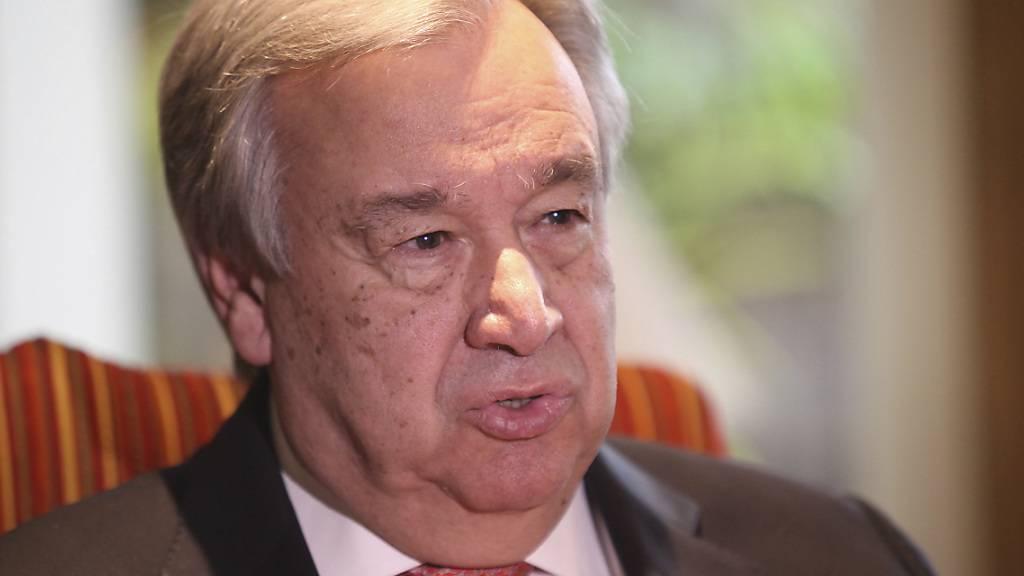 Uno-Generalsekretär Guterres kritisierte bei einer Feier zum Nelson-Mandela-Tag die globale Vorherrschaft der Grossmächte. (Archivbild)