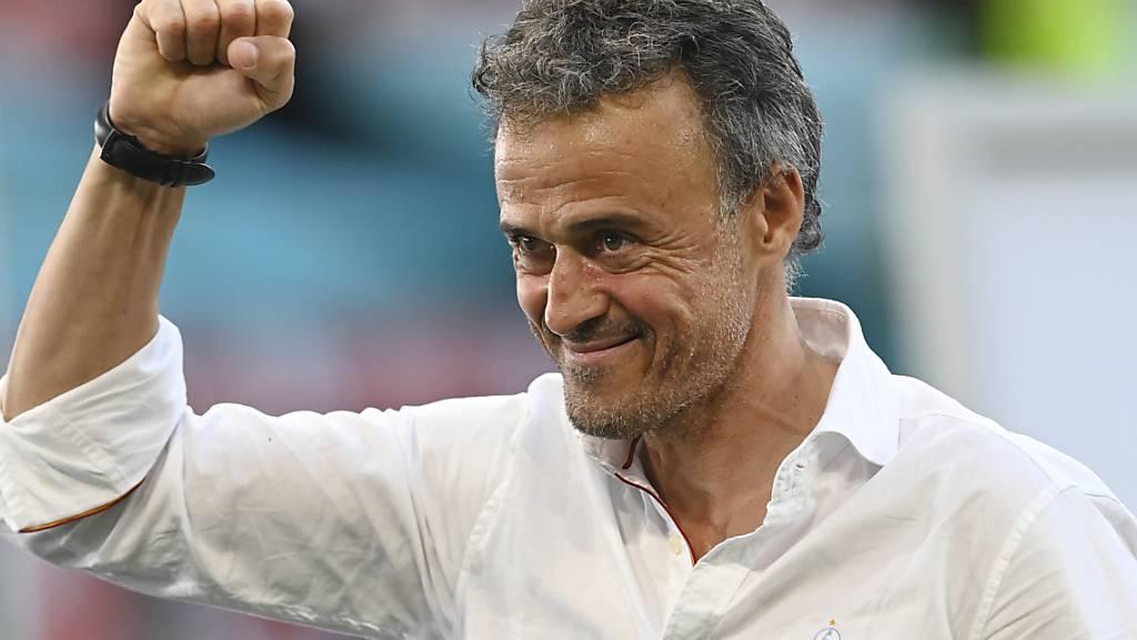 Was Trainer Luis Enrique mit der jungen spanischen Mannschaft schon erreicht hat, ist bemerkenswert