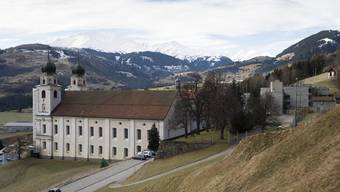 Das Benediktinerkloster in Disentis Kanton Graubünden. (Archiv)