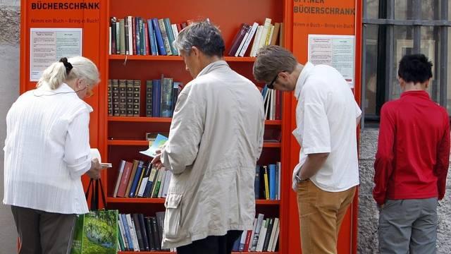 Besucher der Literaturtage in Solothurn