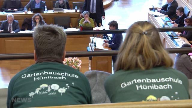 Gartenbauschule Hünibach in extremis gerettet
