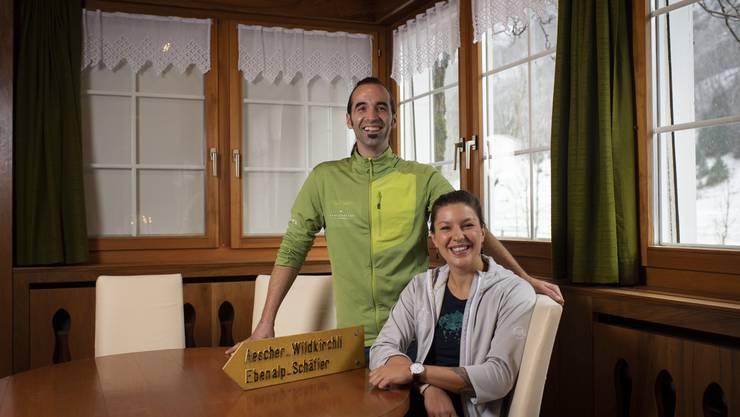 Gallus Knechtle und Melanie Gmünder der Firma Pfefferbeere.