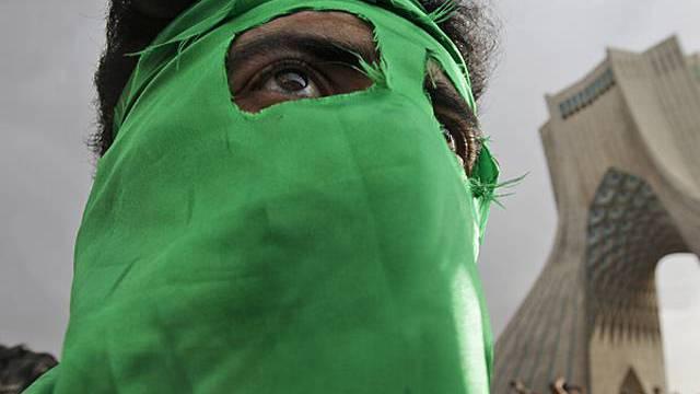 Demonstrant in Teheran im Juni (Archiv)