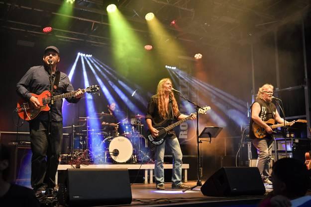 Kurt «Moos» Gilomen und seine Band Light Food.