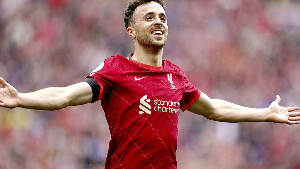 Diogo Jota brachte Liverpool gegen Burnley früh in Führung