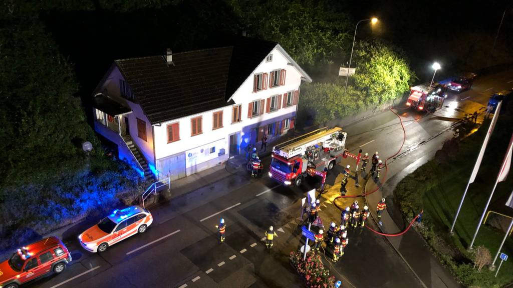 Brand in Heerbrugg war gelegt
