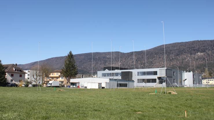 Der Standort an der Niklaus Wengi-Strasse befindet sich zwischen der Landi und dem neuen Swatchgroup-Werk