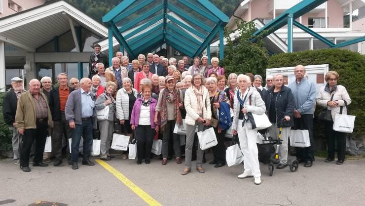 Die Ausflugsgesellschaft genoss die von der Stadt Dietikon und Pro Senectute organisierten Fahrt ins Blaue.
