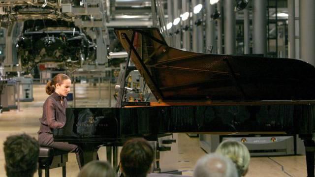 Schätzt Überforderung: Starpianistin Hélène Grimaud (Archiv)