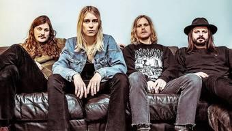 Die Band Annie Taylor mit Bassist Michael Mutter (rechts) ist SRF3-Best-Talent des Monats September.