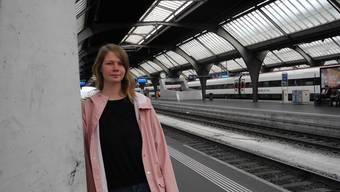 Nina Hüsser macht sich auf den Weg an das Lila-Queer-Festival in Wittnau.