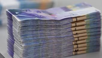 Orell Füssli druckt die Schweizer Banknoten (Symbolbild)