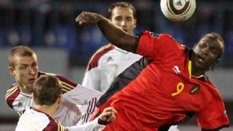 Belgiens Matchwinner Romelu Lukaku beschäftigt gleich zwei Russen