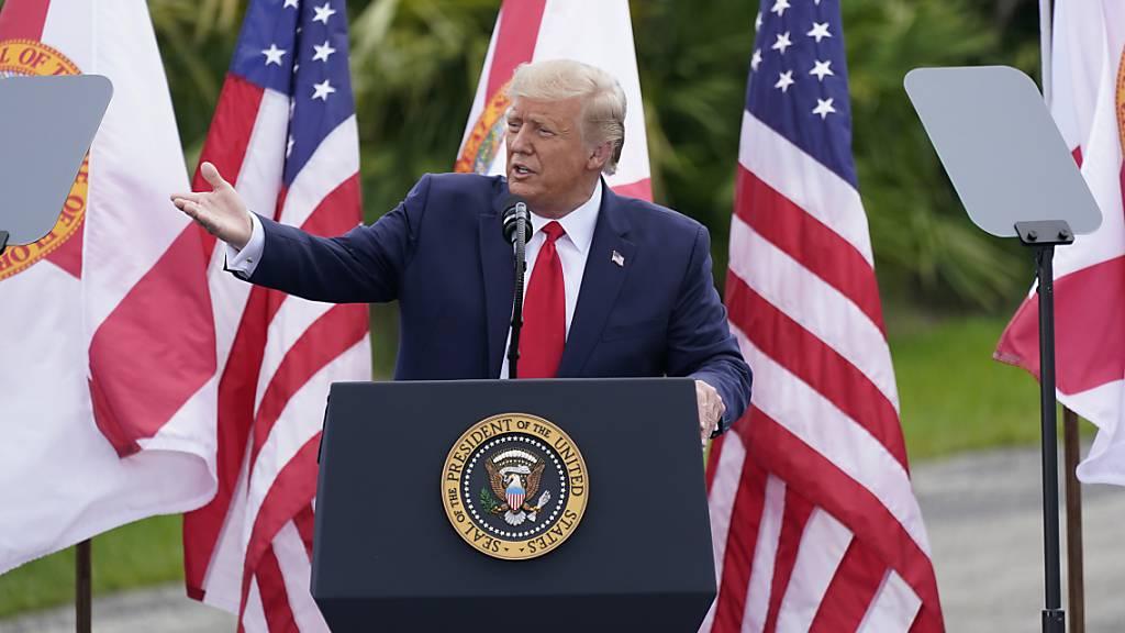 US-Präsident Trump für den Friedensnobelpreis nominiert
