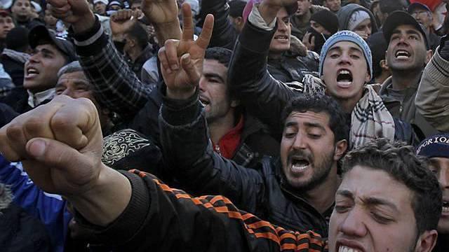 In Tunis gehen Regierungsgegner weiter auf die Strasse