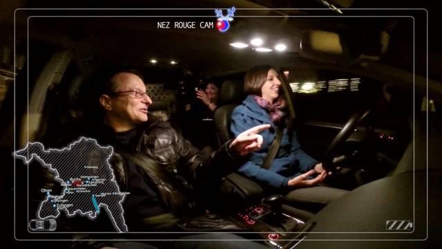 Reportage: Tele M1 fährt für Nez Rouge
