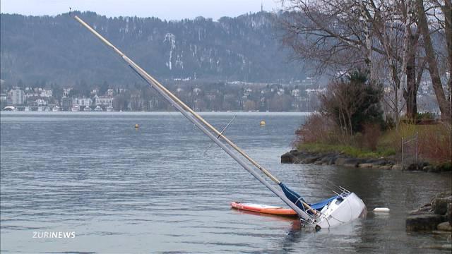 Windböen wehen mit 100 km/h übers Land