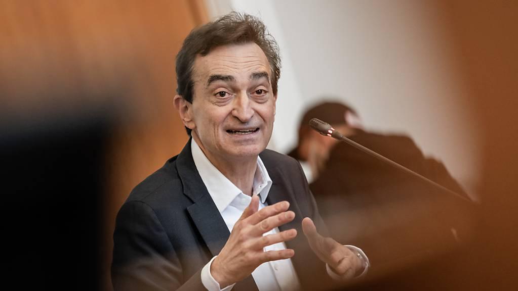 Der Luganeser Stadtpräsident Marco Borradori hat einen Herzstillstand erlitten.