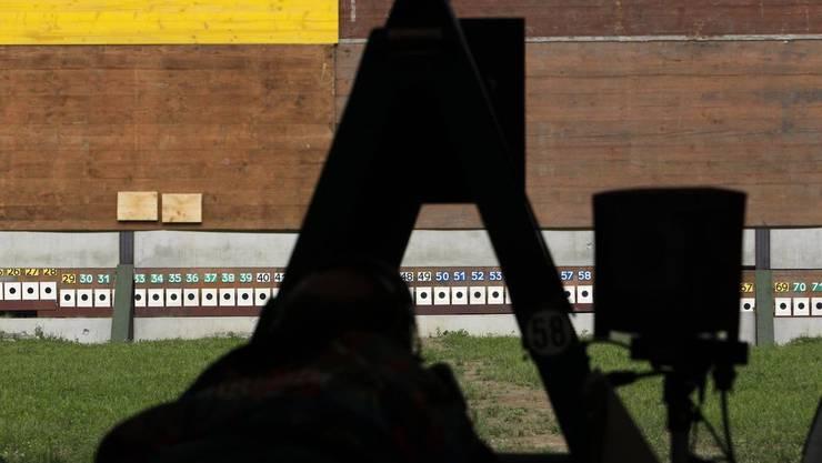 Wo sollen Sportschützen ihre waffen und ihre Munition aufbewahren?